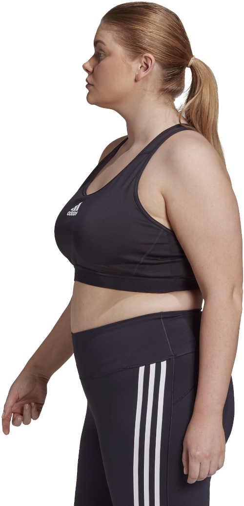 Čierna športová podprsenka Adidas