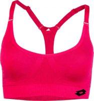 Kvalitná dámska športová podprsenka v ružovej farbe